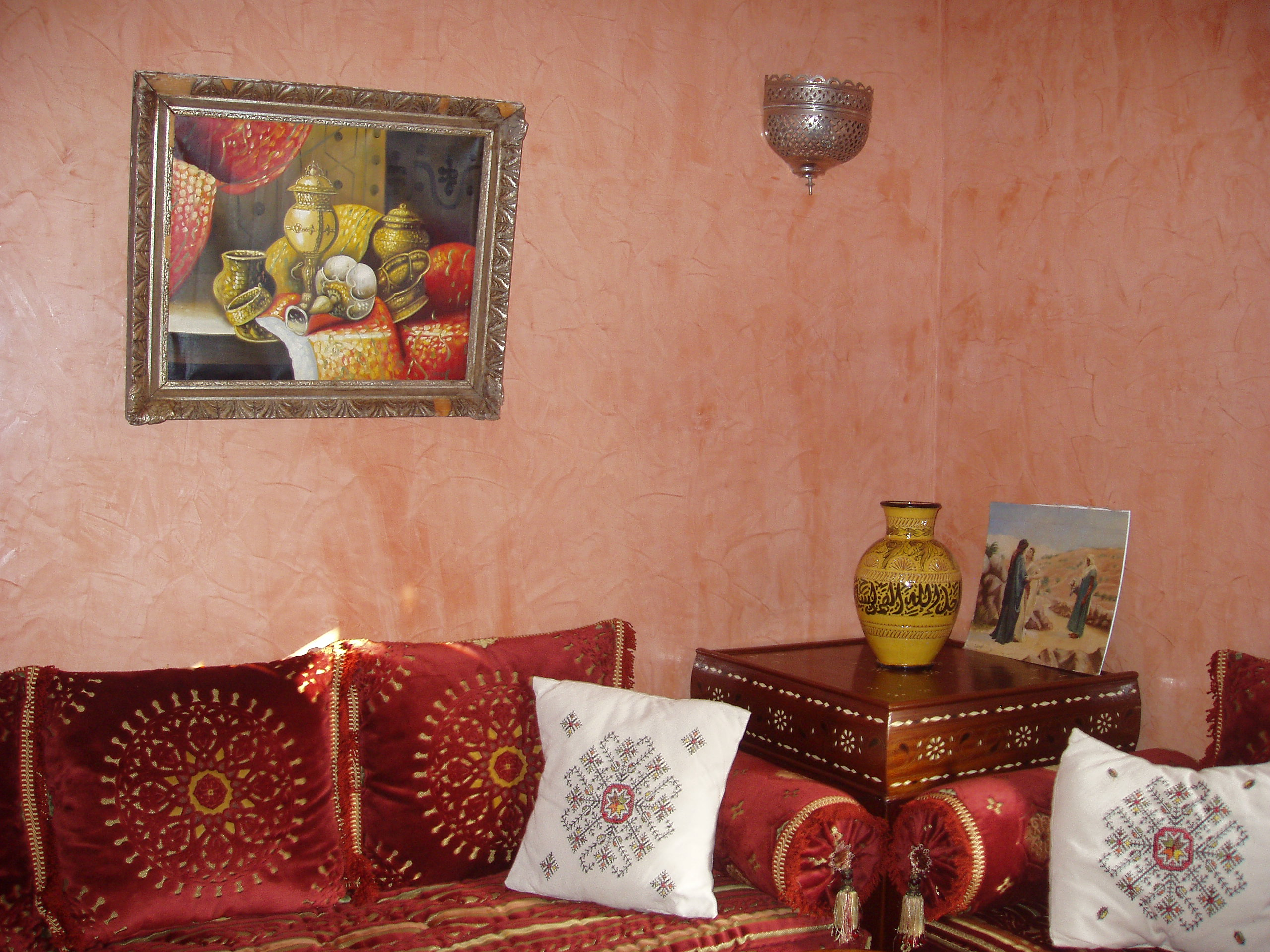 Image gallery maison marocaine 2013 for Decoration de maison salon