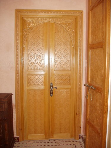 Menuiserie ebenisterie for Decoration porte marocaine