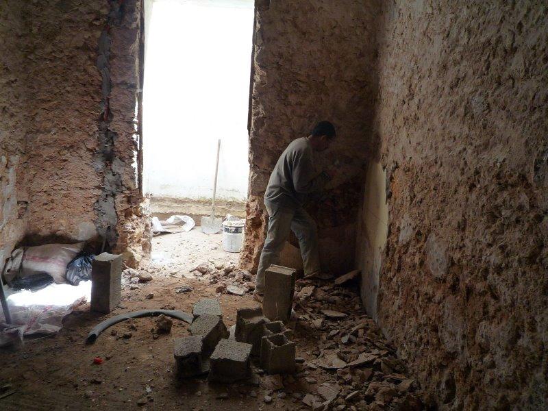 Encadrement des portes for Fenetre sur cour casablanca