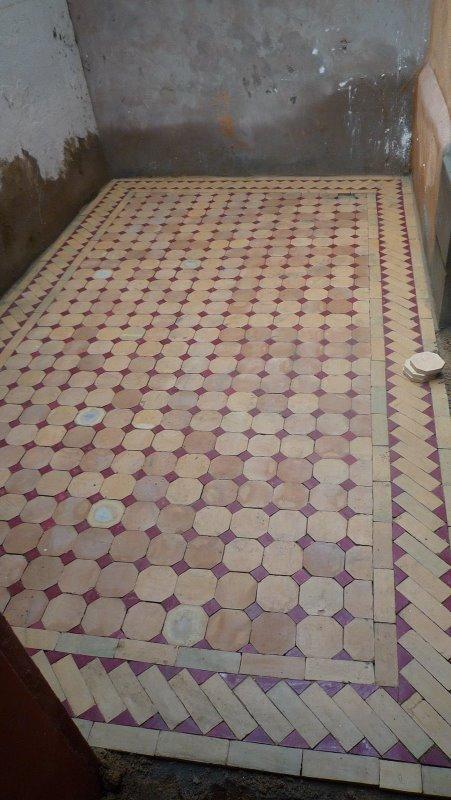 Renovation d 39 un riad au maroc page 75 for Carrelage rabat